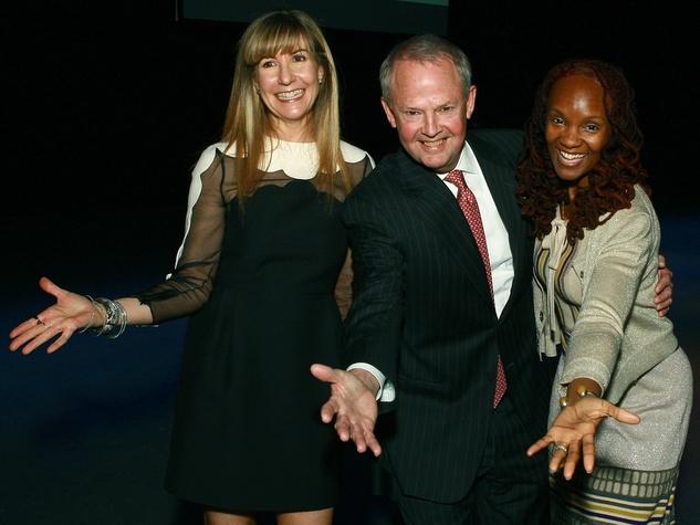 Nancy Carlson, Ken Travis, Rha Goddess, taca award presentation