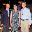 Peter Hillary, Laura Huffman, Wayne Sanders, 2013 Dallas Spring Party