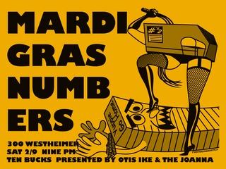"Joanna Gallery presents ""Mardi Gras @ Numbers starring Christeene"""