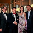Dr. Roland Maldonado, from left, Edward Sanchez and Gabriela and Daniel Dror at Bering Omega's Sing for Hope