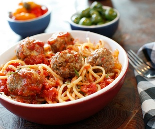 North Italia Spaghetti and meatballs
