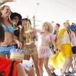 Hot Undies Run Costume contest second place June 2014