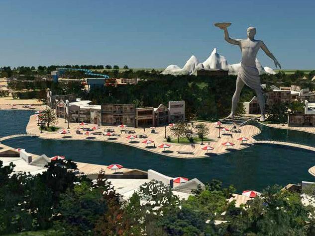RSC Entertainment, theme park rendering, February 2013