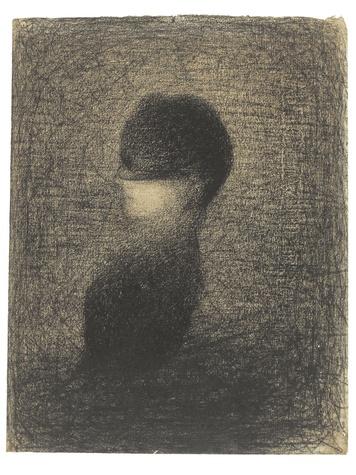 Seurat, The Veil, circa 1883