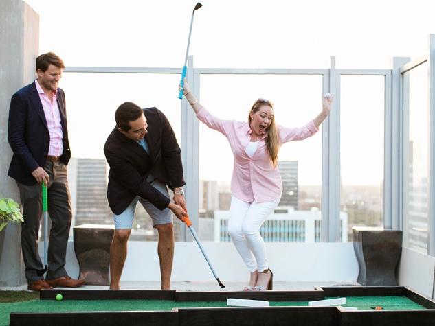 CultureMap Country Club Social golfers