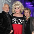 Buddy Mullino, Lady Bunny, Judy Sherman at Toast to Life 2015