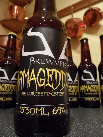Brewmeister, Armageddon, beer, world&#39;s strong beer, October 2012