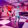 Fresh Arts Gum Ball Gala 2015 Tifa Tiddlywinks and Emma De Lemma
