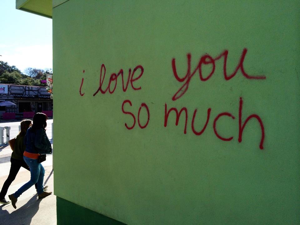 Street Art of Love and Heartbreak in Austin 19