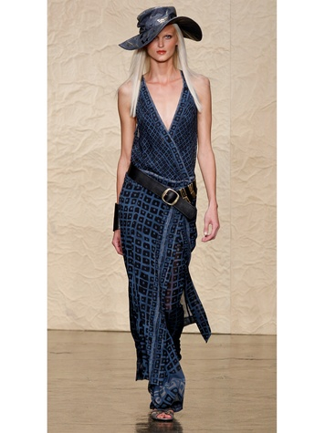 Fashion Week spring summer 2014 Donna Karan Look 10