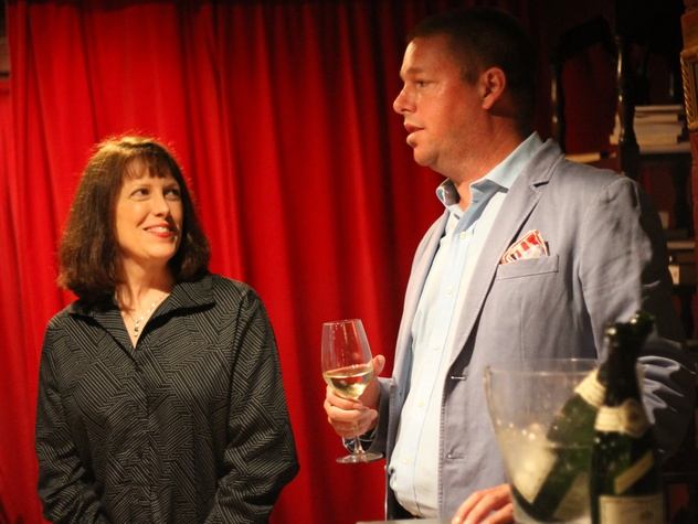 Somms Under Fire founders Marshall Jones and Diane Dixon