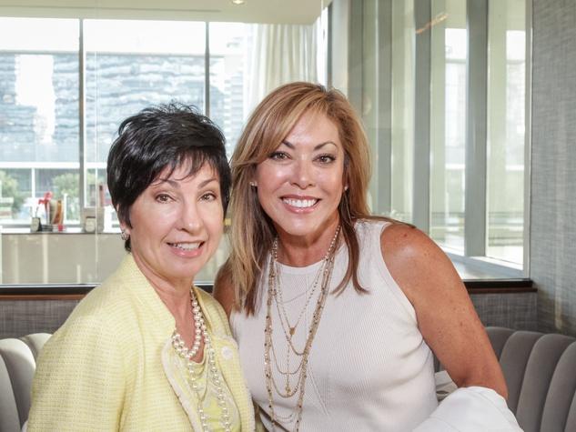 Ellevate Network breakfast 6/16 Marilynn Barber, Elizabeth Reneberg