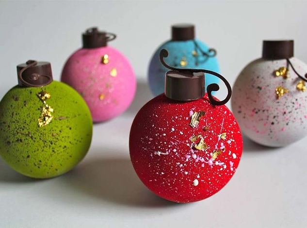 Kate Weiser chocolate ornaments