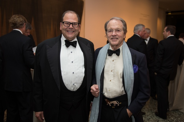 Christopher Sarofim, from left, and Dale Dorn at Museum of Fine Arts Houston MFAH One Great Night November 2014