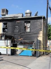 News_Dolce Vita_fire_charred building