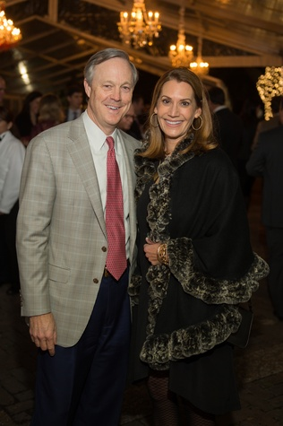6985 David and Angela Peterman at the Heritage Society Gala December 2014