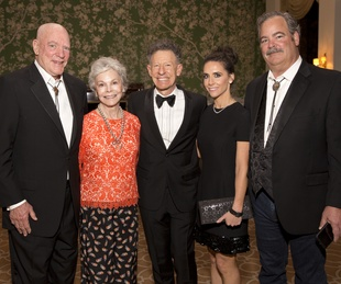 Houston, Blue Bird Circle Gala with Lyle Lovett, April 2017, Bob McNair, Janice McNair, Lyle Lovett, Hannah McNair, Cal McNair