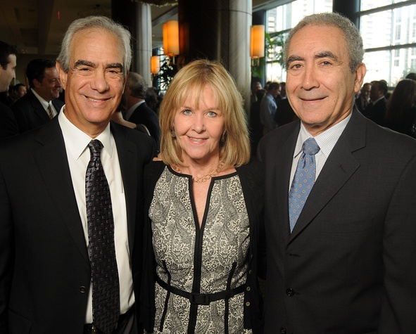 33 Robert Pickelner, from left, and Bunny and Ivan Edelman at the Guardian luncheon November 2013