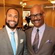 News, Shelby, Morehouse College Father's Day event, June 2015, Grad Wayne Luckett and Dad Wayne Luckett.