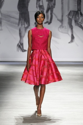 Lela Rose spring 2015 collection look 30