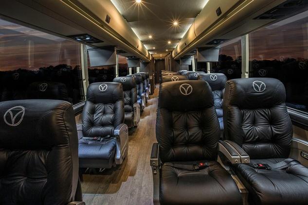 Vonlane bus interior