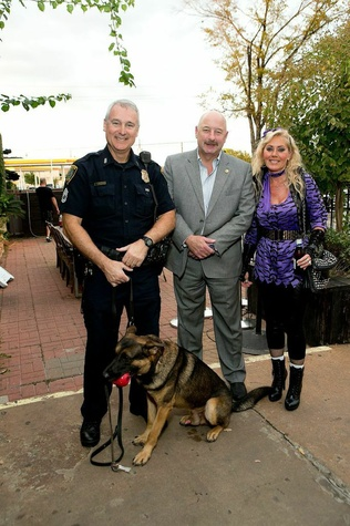 20 Jo Lynn and Gregg Falgout at the K9s 4 Cops benefit November 2014