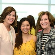 Lauren Levicki Courville, from left, Chloe Dao and Nancy Levicki at WOW's Membership Drive June 2014.