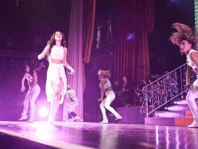 Selena Gomez concert at Toyota Center November 2013