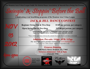 """""""Swingin' & Steppin' Before the Ball"""" – A Swing Out and Two Step Dance Contest benefiting Houston Area Urban League Guild"""