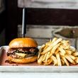 Pappas Delta Blues Smokehouse prime cheeseburger