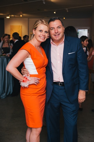 0199 38 Valerie and Tracy Dieterich at the Houston Symphony's Young Associates Council season kick-off August 2014