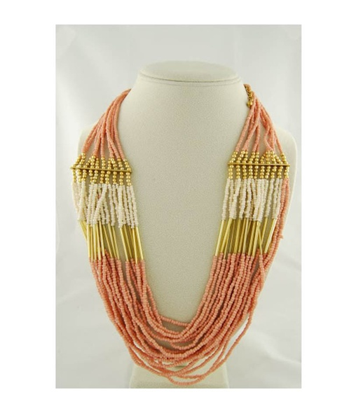 Movida Pink Multi-Layer Necklace