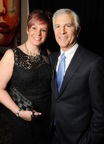 Stephanie Zimmer and Ken Schnitzer at the Johnny Mac Soldiers Fund Inaugural Houston Gala April 2015