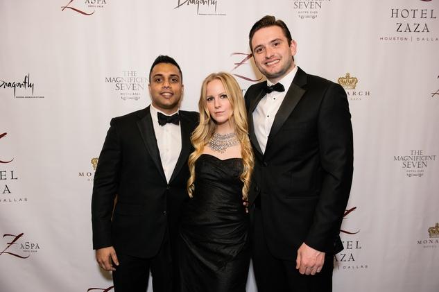 News_Shelby_Hotel ZaZa New Year's Eve_December 2013_Raveen Dey, Emily Cotton, James Short