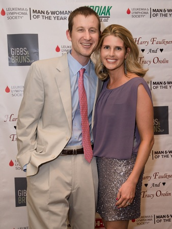 Leukemia Man and Women of Year finale, June 2012, Brian Ross, Catie Ross