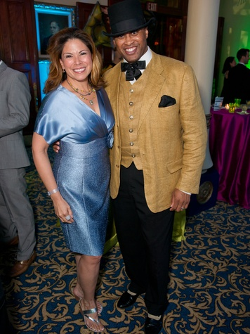 Sandra Rascon and William Jackson at Ballet Austin Fete and Fete*ish