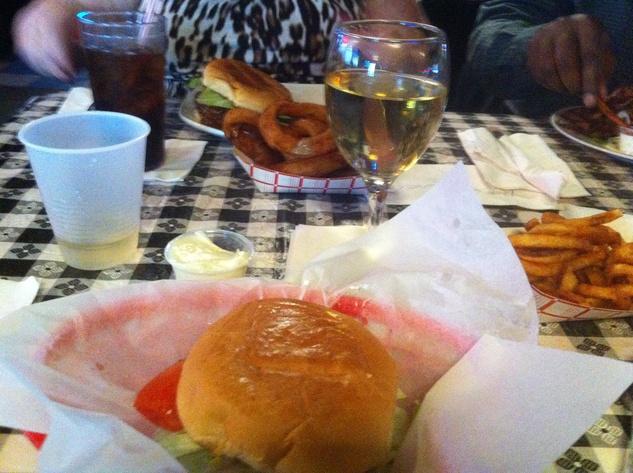 Blanco's last hamburger November 2013