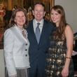 Maggie, Robert and Katherine Murchison, january deb parties