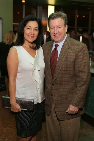 9 Paulina and Jim McGrath at TUTS' Vine & Dine November 2014