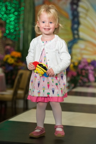 Olivia Verley at the Houston Symphony Children's Fashion Show & Luncheon March 2015
