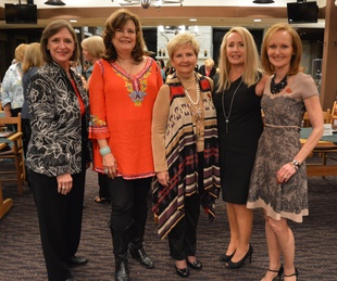 HLSR Trailblazers 2015 Kathleen Williams, Marilyn DeMontrond, Jonnie Steffek, Tricia Koch, Carol Sawyer