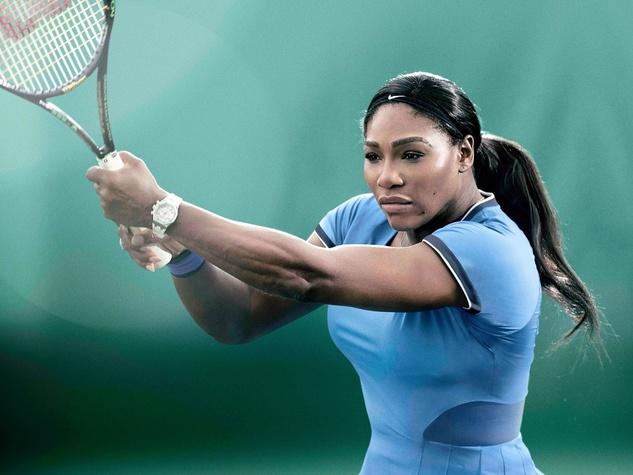 Houston, Ken Hoffman, Serena Williams, July 2017
