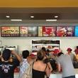 3 Jollibee Houston Setember 2013 crowd at menu board in line to order