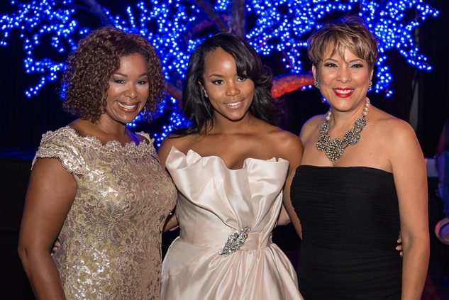 News, Shelby, Ensemble Theatre gala, August 2014, Deborah Duncan, LeToya Luckett, Laurie Vignaud