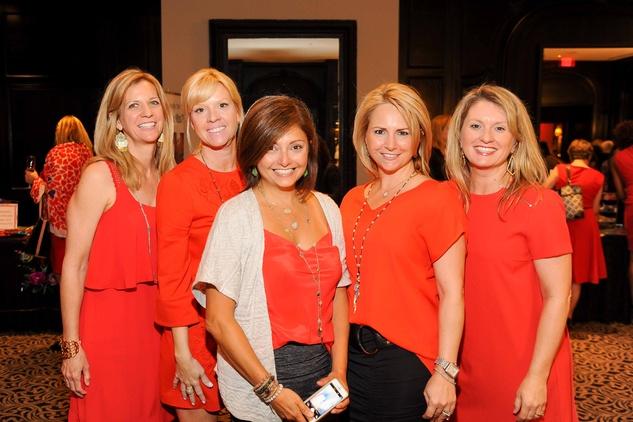 Houston, News, Shelby, Go Red For Women, April 2015, Pam Allen, Susan Ferrari, Mirta Tummino, Christy Maloy, Karen Miller