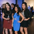 6 Lisa Nguyen, from left, Tuyet Pham and Thuy Pham at CultureMap fifth anniversary birthday party October 2014