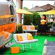 Veuve Clicquot Airstream champagne tents