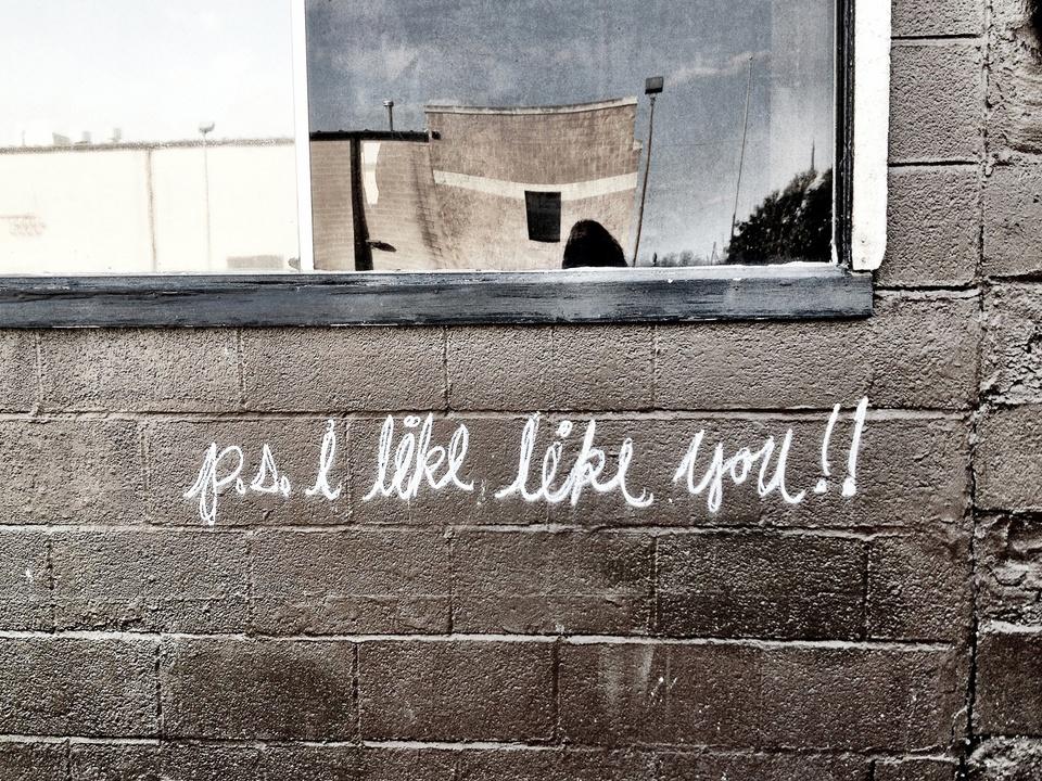 Street Art of Love and Heartbreak in Austin 4