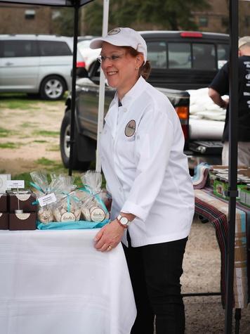 10 Bashe Joselevitz of Bashe's Artisanal Pastries at Evelyn's Park's Pop-Up event February 2014