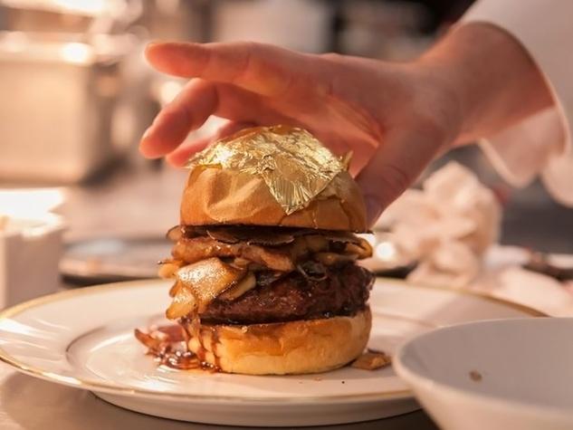 60 Degrees Mastercrafted hamburger $200 burger